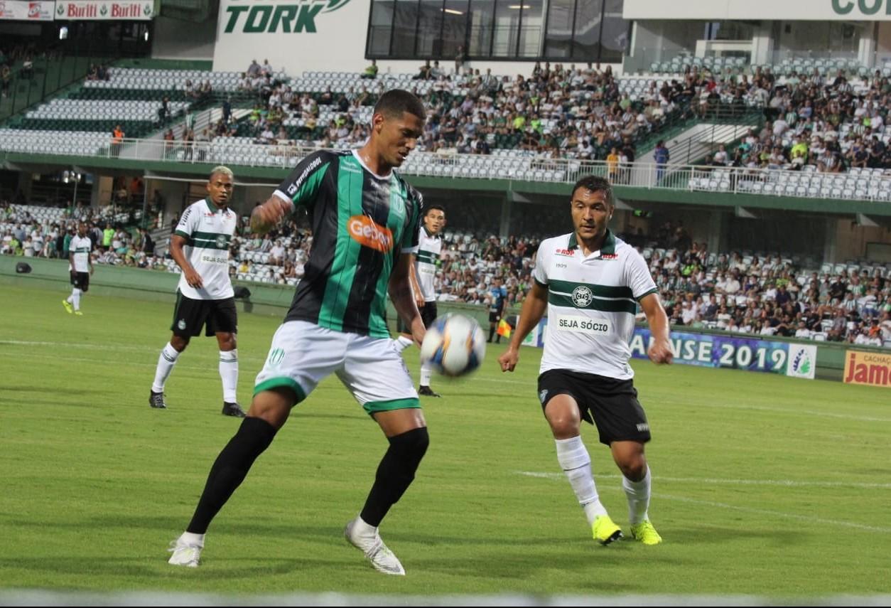 Maringá FC empata em jogo contra o Coritiba