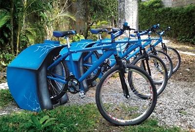Ecobike é estacionária e gera energia elétrica limpa
