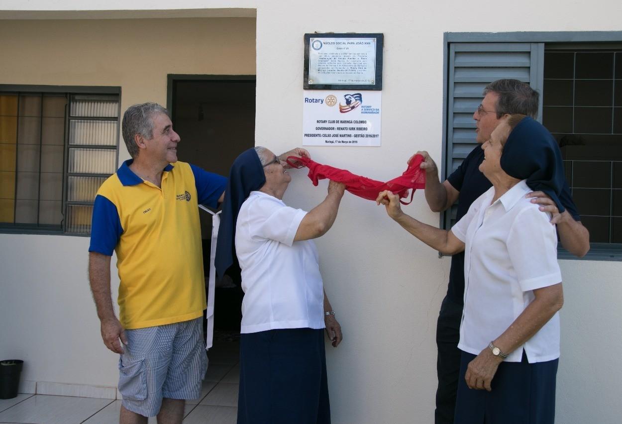 Projeto do Núcleo João XXIII entrega mais quatro casas sociais em Maringá