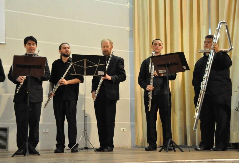Orquestra de Flautas da UEM participa de Festival Internacional em São Paulo