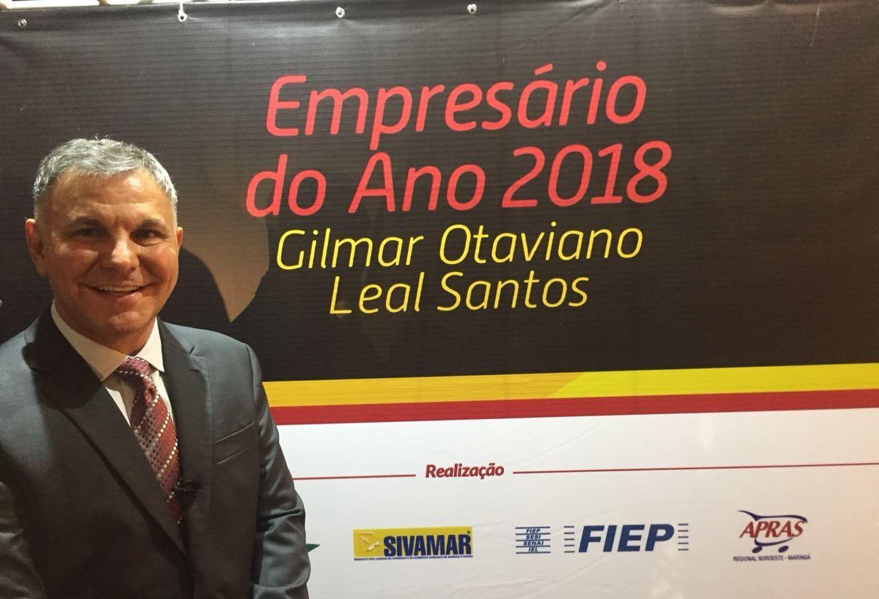 Gilmar Leal Santos é o Empresário do Ano