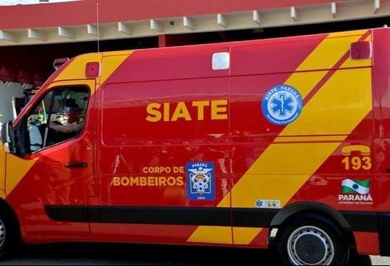 Homem perde parte da perna em acidente de trabalho, afirmam bombeiros