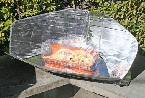 Cozinha solar evita emissão de gases de efeito estufa