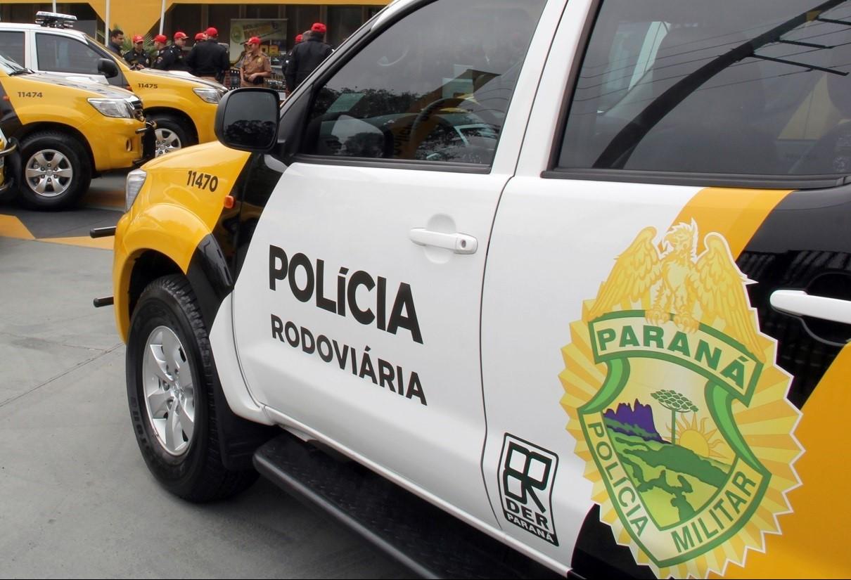 Homem é preso em Iporã, na PR-323, com armas de airsoft contrabandeadas