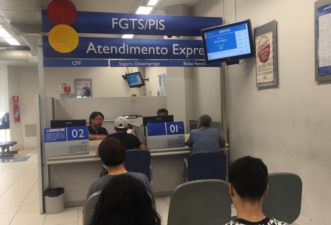 Horário especial para saques do FGTS continua