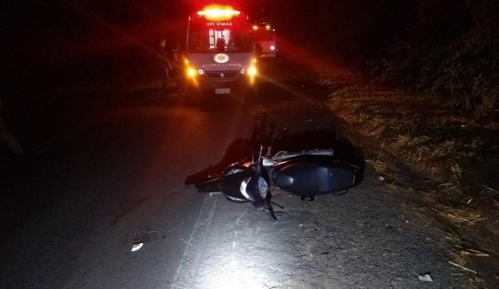 Motociclista morre em acidente na PR-577