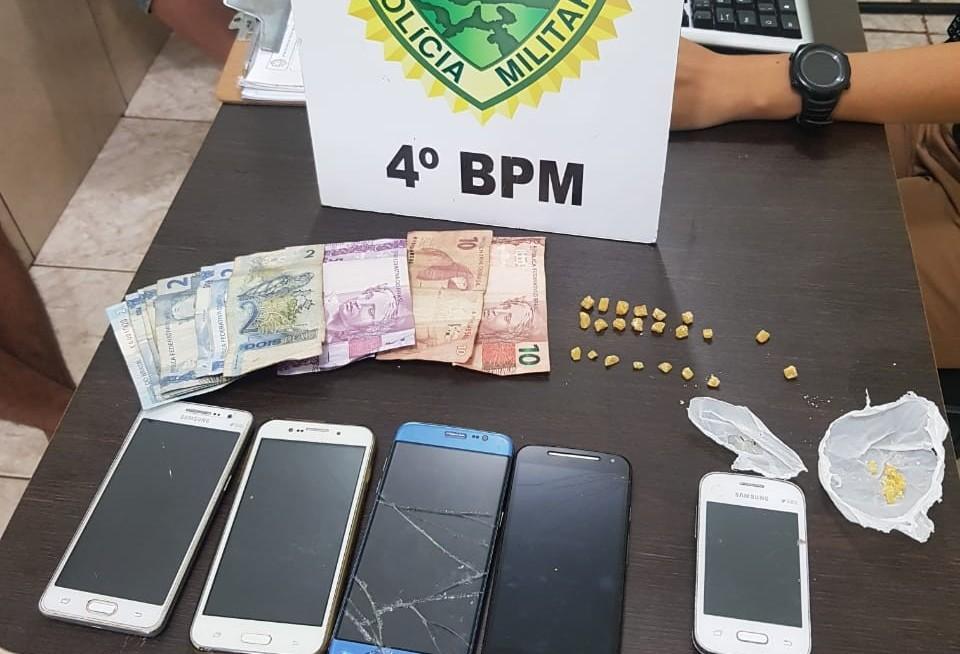 Polícia prende suspeitos de tráfico e droga no Conjunto Requião