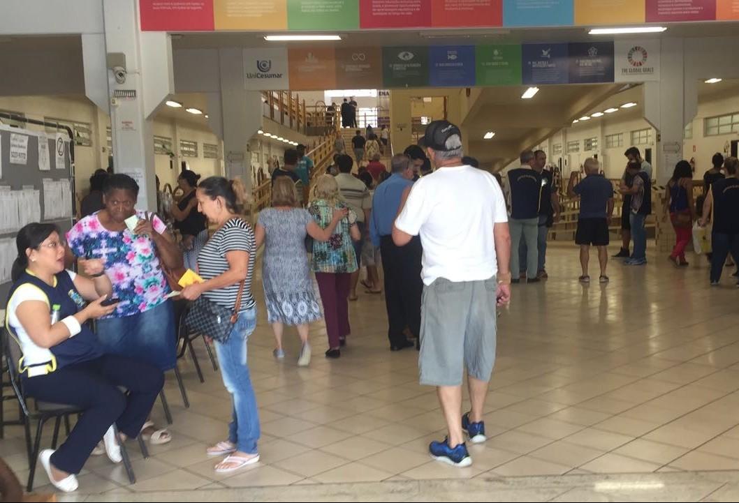 Unicesumar é o local que concentra o maior número de eleitores em Maringá