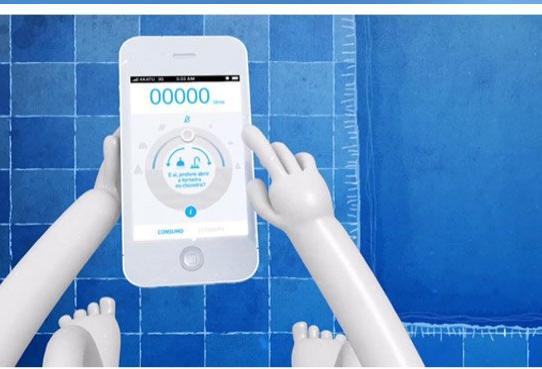 """Aplicativo ajuda economizar água em momentos que podem ser """"constrangedores"""" no banheiro"""
