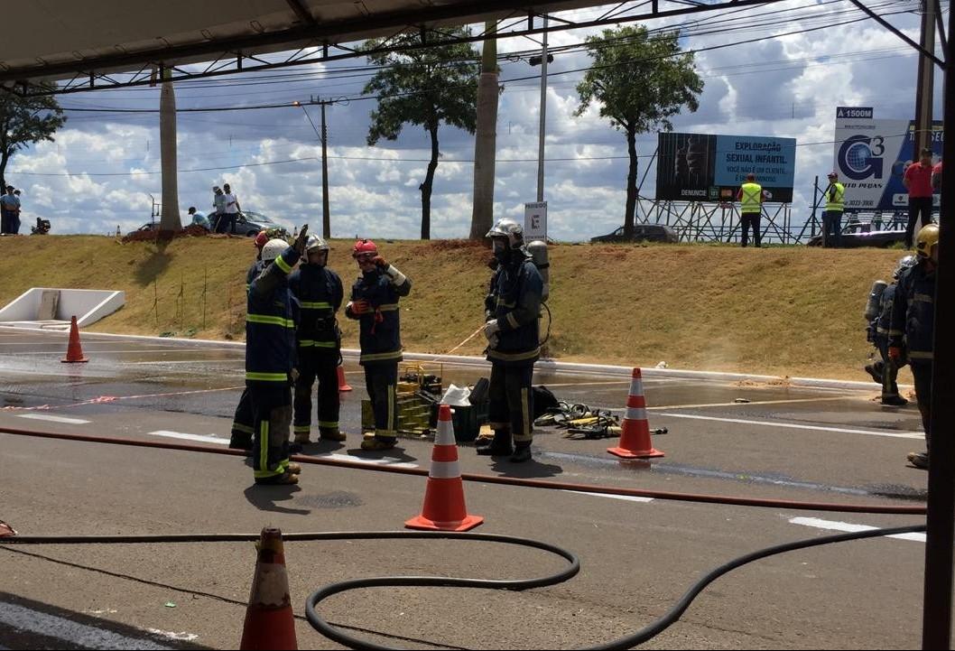 Simulação de acidente grave mobiliza equipes de salvamento