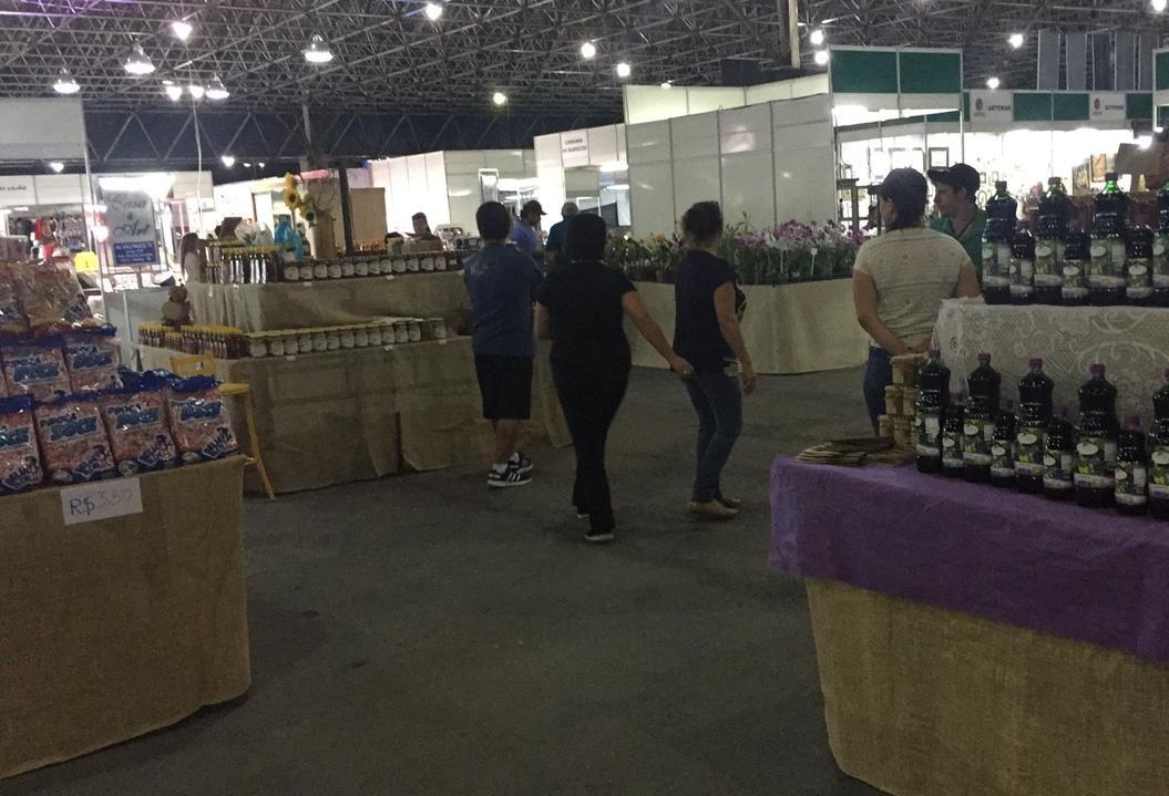 Agroindústria familiar comercializa mais de 250 produtos na Expoingá