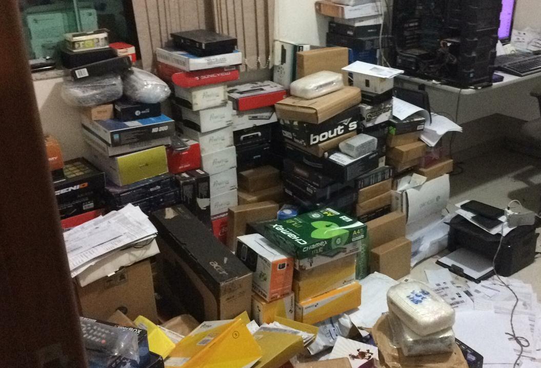 Polícia Federal desmonta loja virtual de Maringá que sonegava impostos