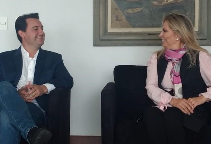 Cida e Ratinho Junior reúnem bancada federal do Paraná, em Brasília