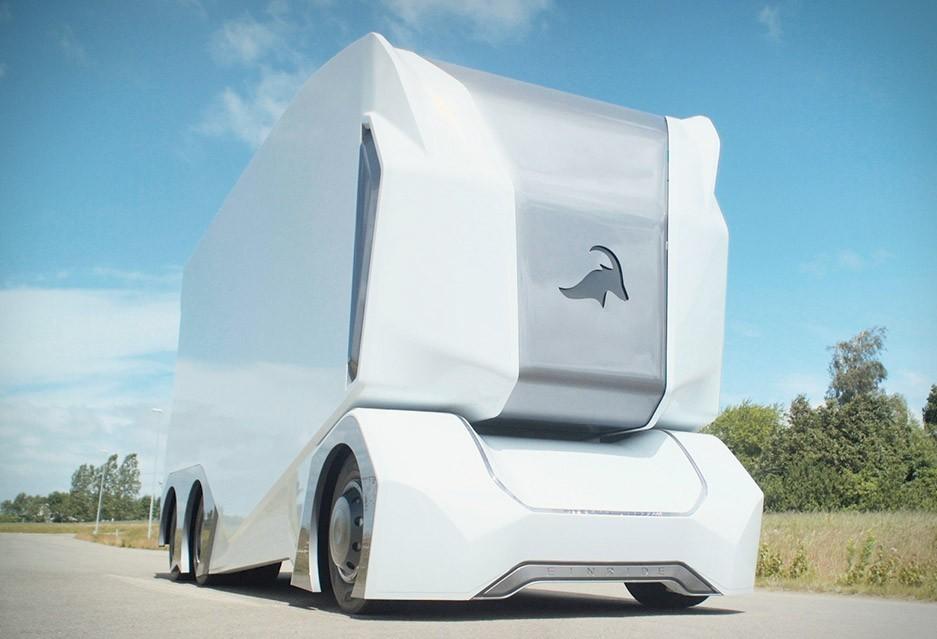 Caminhão T-Pod recebe autorização para ser testado em área controlada