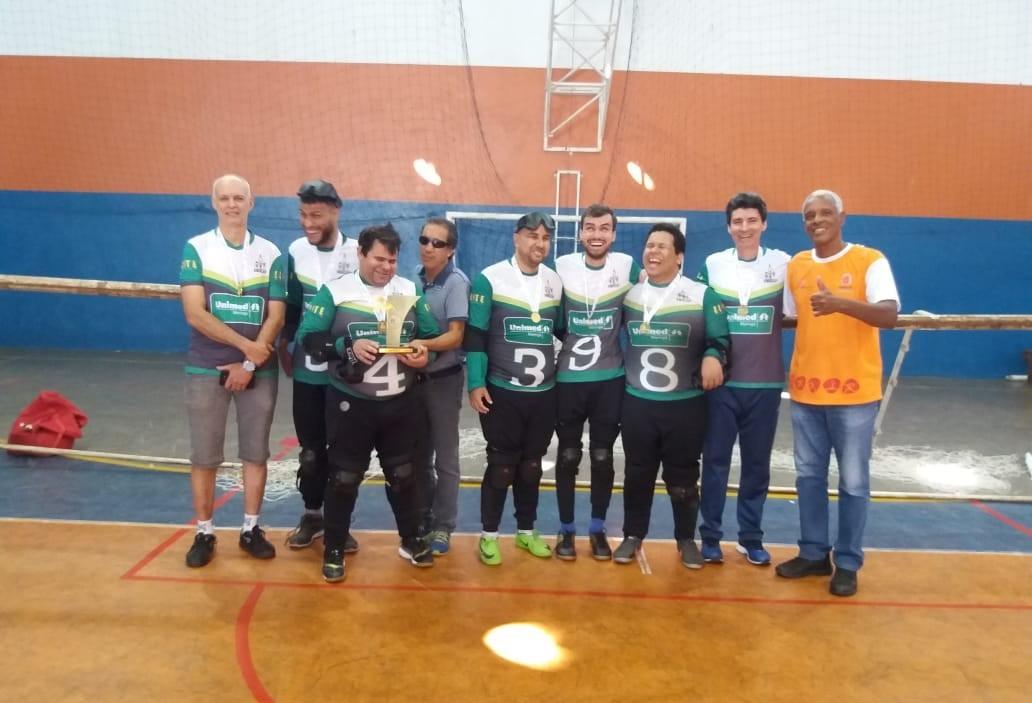 Equipe maringaense quer voltar para Série A do Brasileiro de Goalball