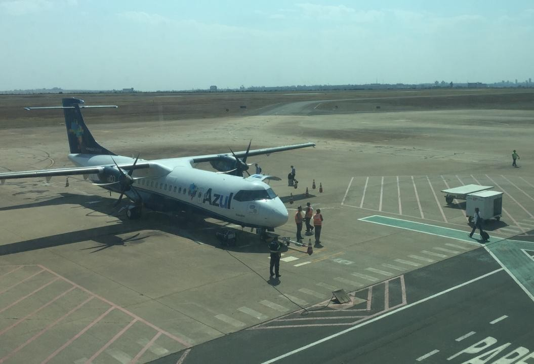 Equipe da Infraero vem a Maringá para elaborar anteprojeto da reforma do terminal de passageiros