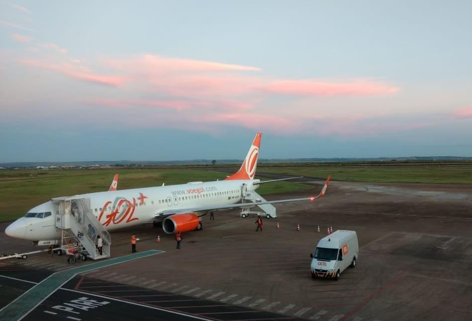 Gol reduz voos diretos para Curitiba entre abril e junho