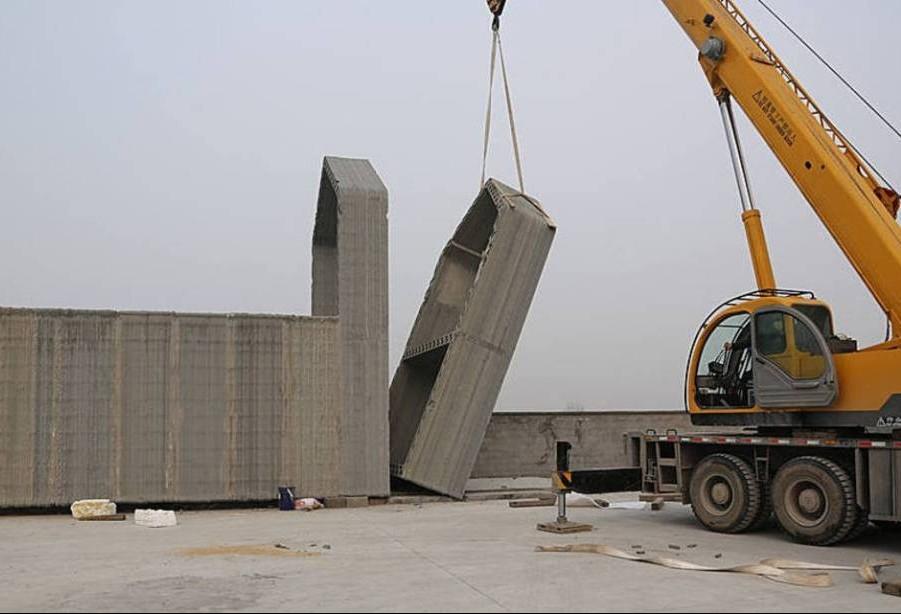 Empresa chinesa transforma resíduos em cimento para construções em 3D