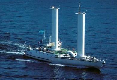 Navio foi projetado para ter tecnologia de propulsão a turbovela