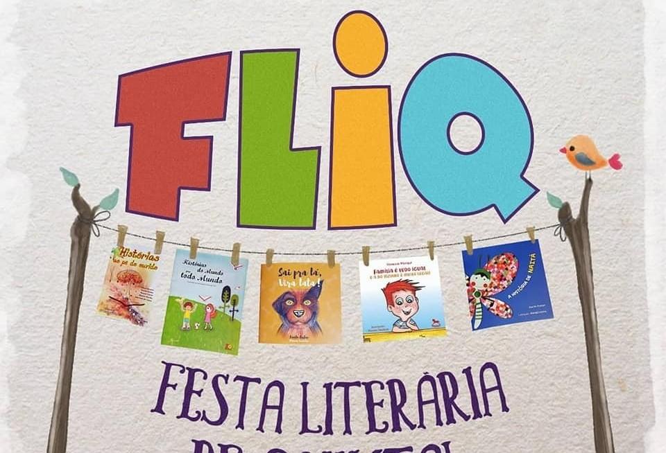 Contação de histórias e lançamentos de livros fazem parte da Fliq