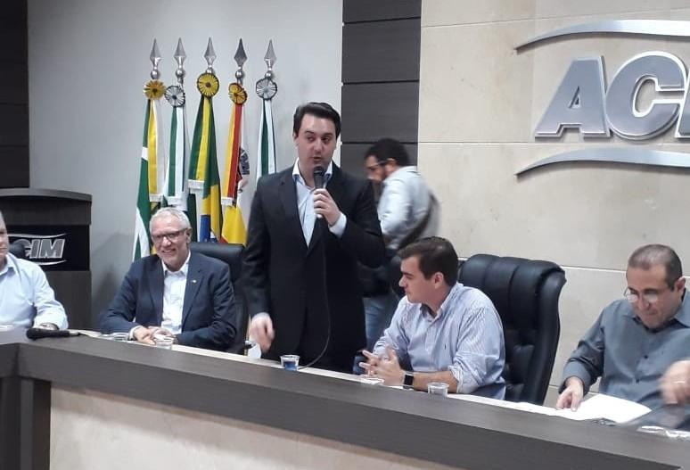 CBN acompanha visita de outro pré-candidato ao governo estadual
