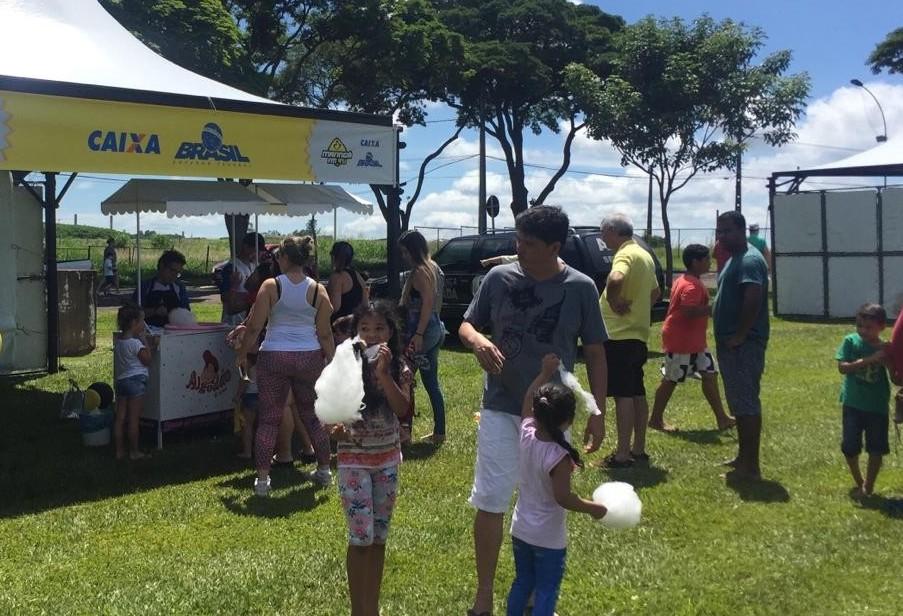 Arena Família Maringá FM é lugar de diversão