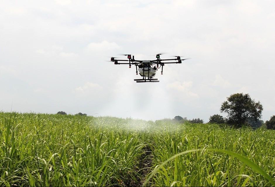 Aumento do uso de drones na agricultura surpreende