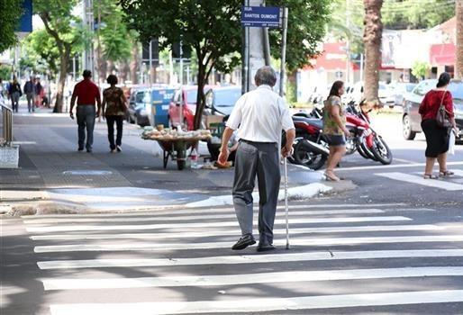 44 dos 139 atropelados neste ano em Maringá eram idosos