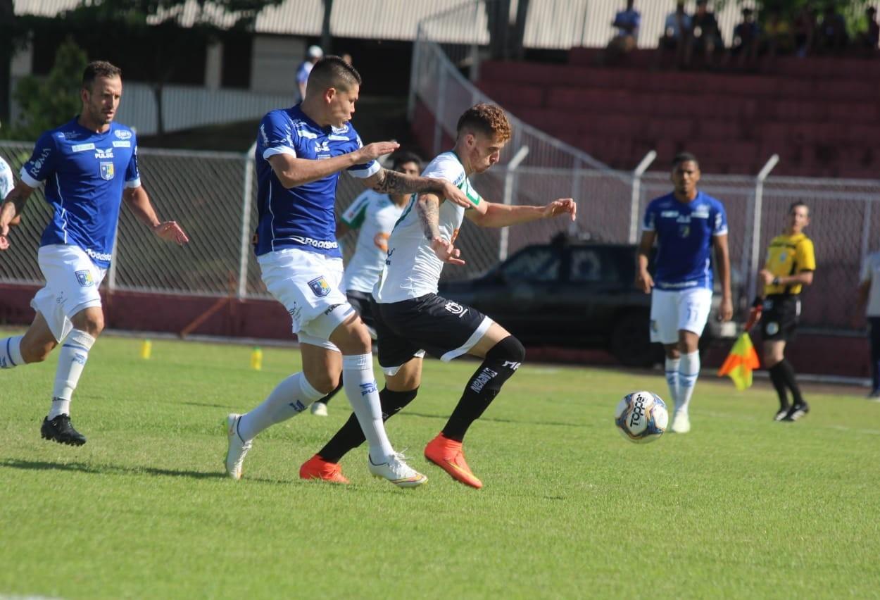 Maringá FC perde para o Foz do Iguaçu