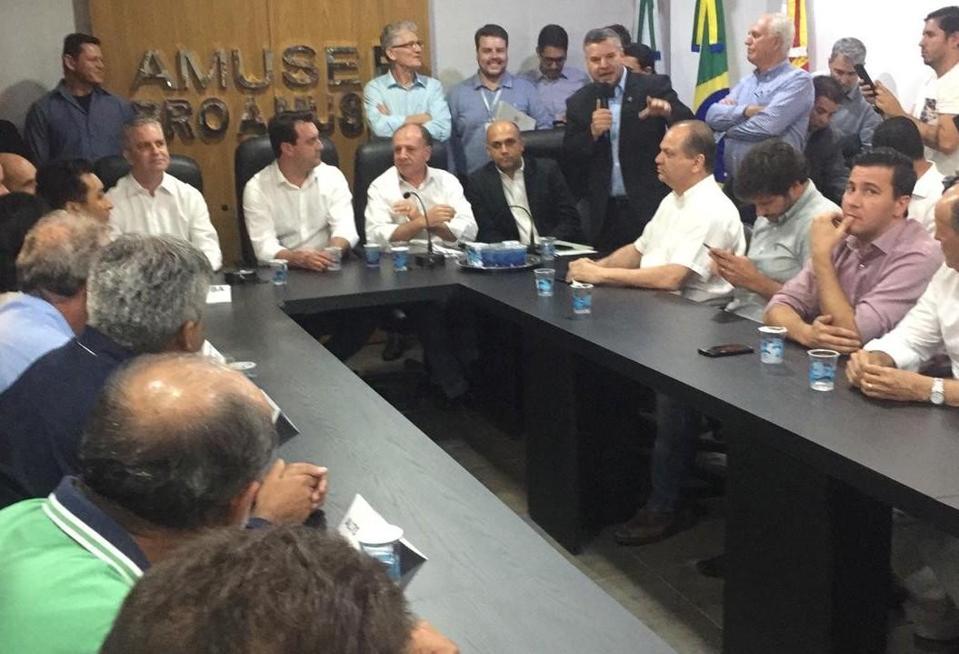 Governo libera quase R$ 5 mi para municípios da Amusep