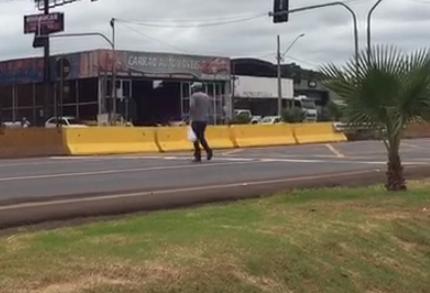 Agora é preciso prevenir acidentes com pedestres na BR-376
