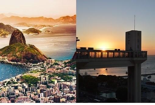 Rio de Janeiro e Salvador propõem reinvenções na cidade
