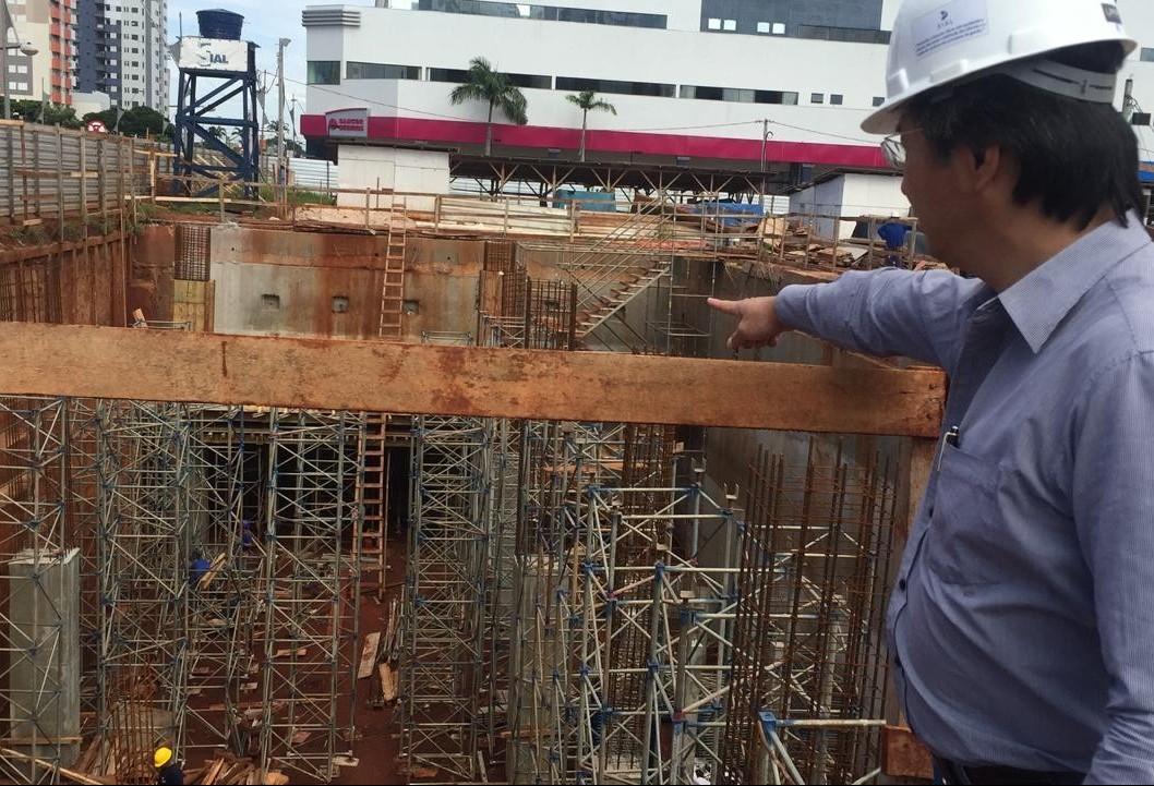 Túnel do novo centro não afeta segurança no futuro terminal