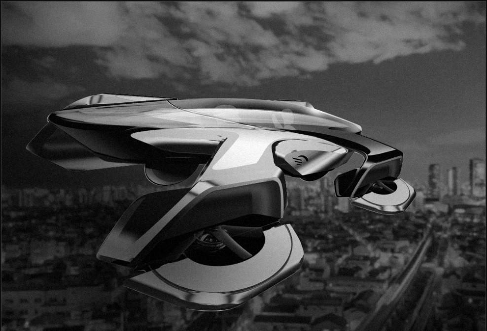 Tocha Olímpica de 2020 pode ser acesa por carro voador