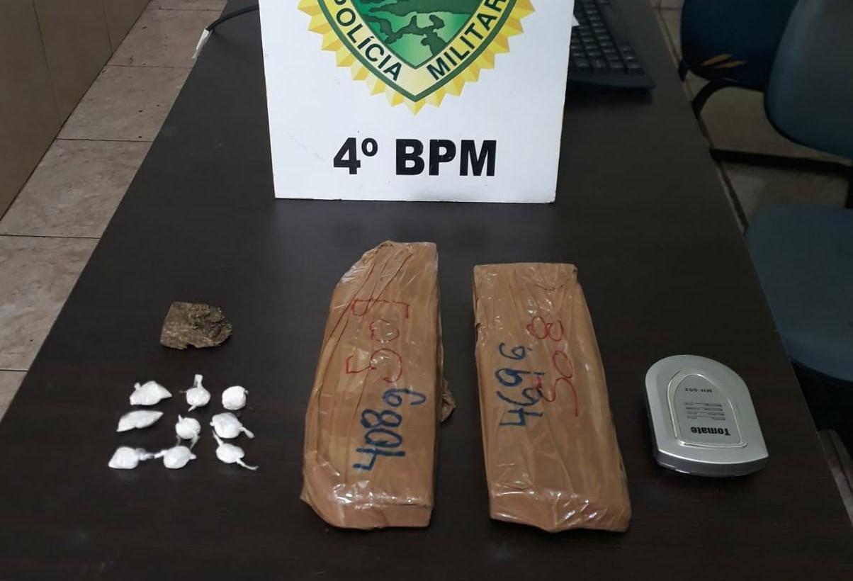 Polícia encontra quase um quilo de droga em Iguatemi