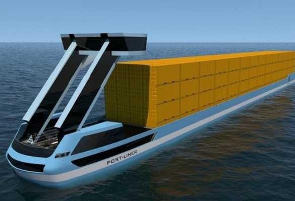 Navios elétricos estão sendo construídos para reduzir tráfego de caminhões na Holanda