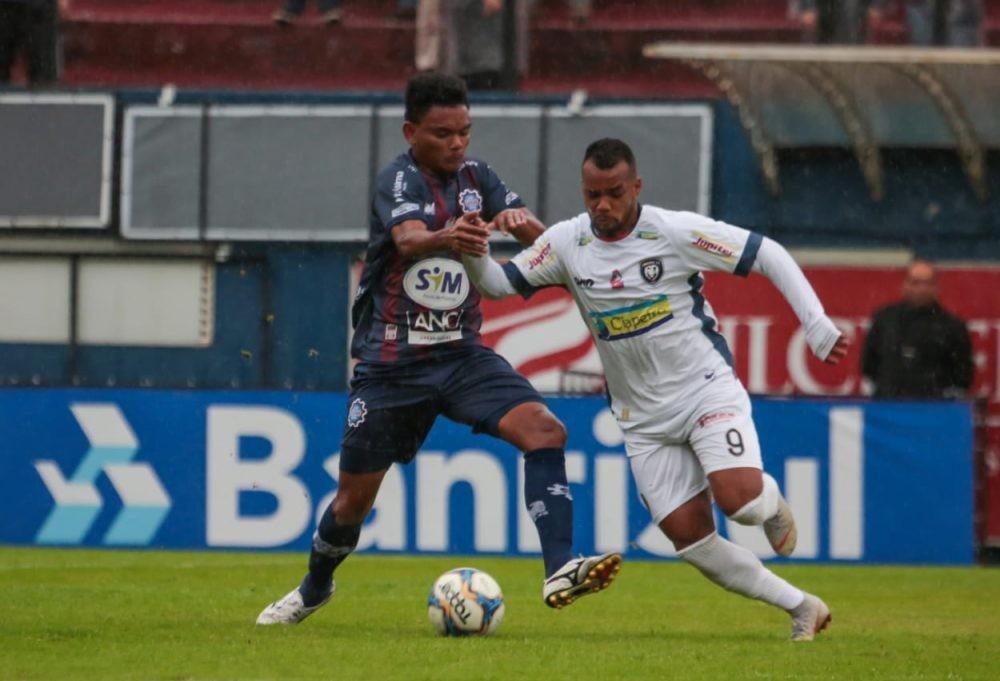 Fora de casa, Cianorte  FC empata com o Caxias