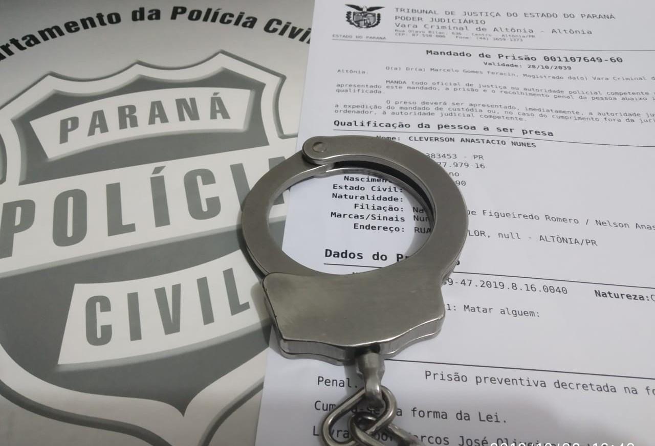 Homicídio de ex-policial é elucidado em Altônia