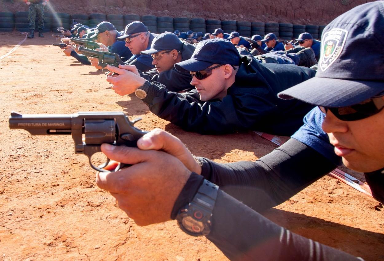 Guarda Municipal de Maringá está treinando mais 29 agentes para usar armas