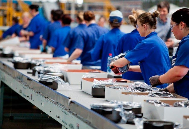 Confiança do empresário industrial cai em março