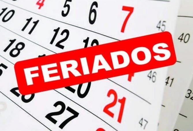 Mais de dez feriados caem em dias úteis