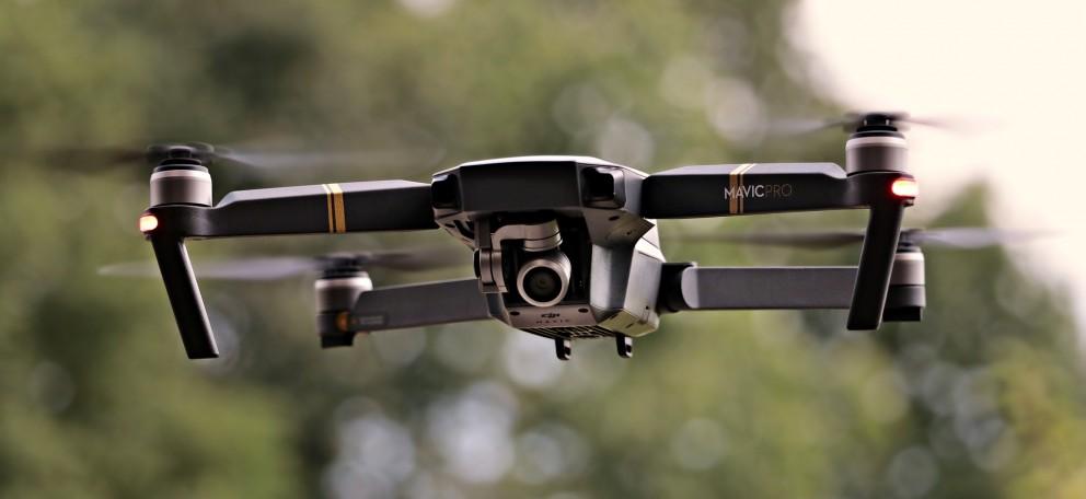 Drones podem ser utilizados para economizar água