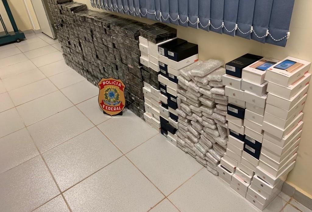 Em Floresta, PF apreende contrabando avaliado em R$ 1 milhão