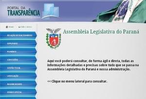 Força-tarefa vai acelerar portais da transparência do Paraná