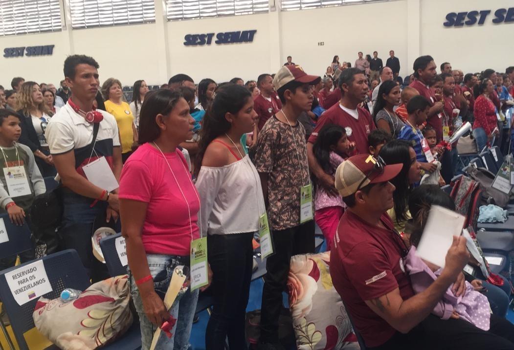 Maringá recebe refugiados pela Operação Acolhida do Exército Brasileiro