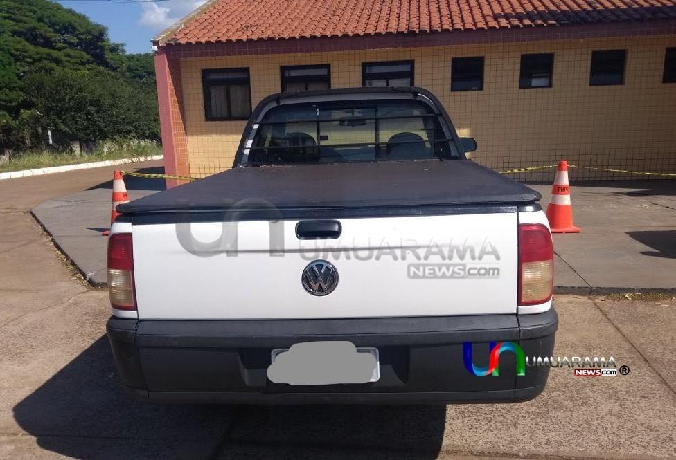 Polícia apreende carro com mais de um milhão de reais em débitos