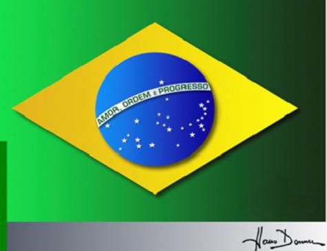 Designer propõem nova bandeira do Brasil