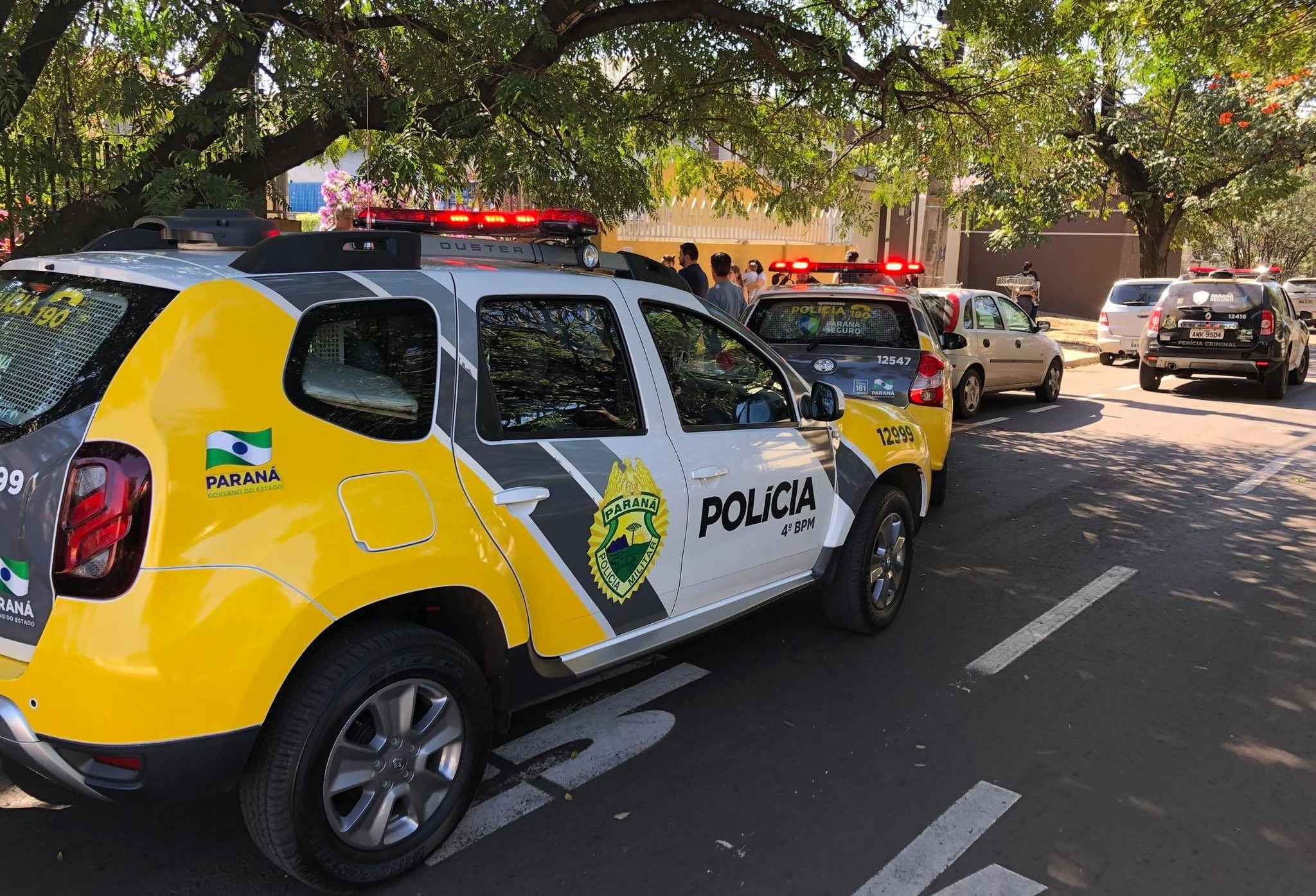 Polícia investiga a morte de uma professora em Maringá