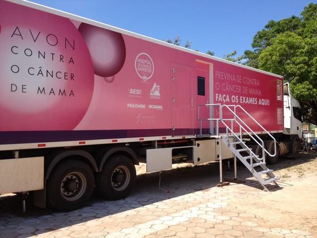 Unidade móvel de prevenção ao câncer de Barretos estaciona em Cianorte no fim do mês