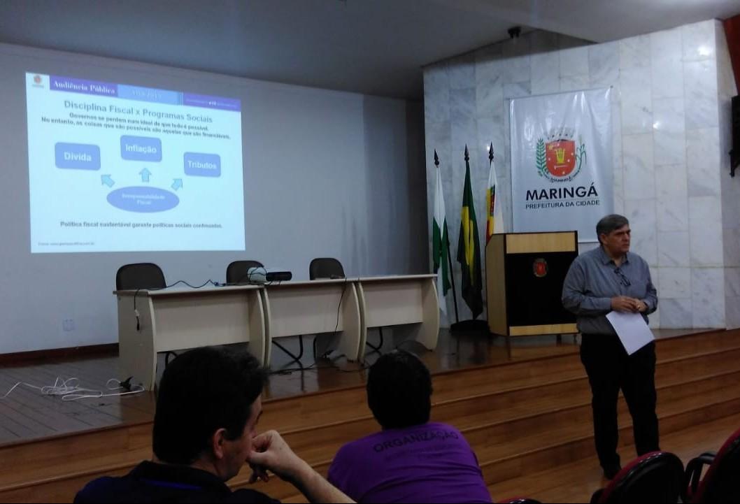 Orçamento de Maringá para 2019 deve ficar em 1,7 bilhão de reais